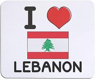 'I Love Lebanon' Mouse Mat / Desk Pad (MO00000082)