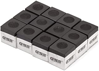 GSE Games & Sports Expert 12-Pack of Billiard/Pool Cue Chalks (5 Colors Available)