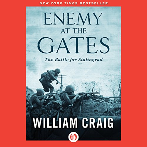 Enemy at the Gates audiobook cover art