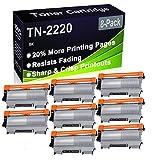 Cartucho de tóner negro compatible TN2220 TN-2220 TN2010 TN-2010 (alta capacidad), apto para impresora Brother DCP-7055 DCP-7055W DCP-7060D DCP-7065DN DCP-7070DW