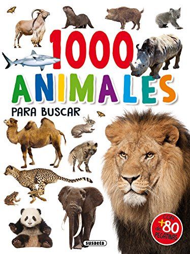 1000 Animales para buscar (1000 pegatinas para buscar)