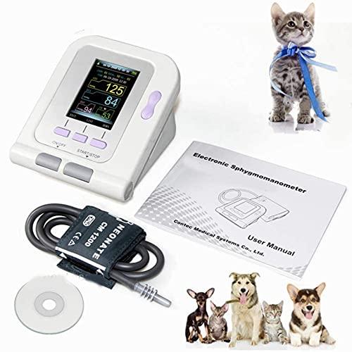 Moniteur de pression artérielle numérique de la tension artérielle Vétérinaire NIBP Cuff, chien / chat / animaux domestiques, logiciel