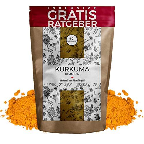 Kurkuma Kurkuma poeder 750g | Gouden melk gemalen kurkuma kruid inclusief gratis kruidengids Kurkuma Kurkuma Curcumine Kurkuma