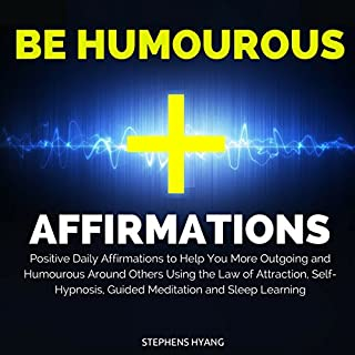 Be Humorous Affirmations audiobook cover art