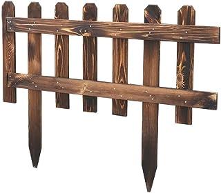 PIN Muebles para el hogar Valla Valla de Madera Cuadrícula Decoración Barandilla Jardín Exterior Valla para