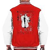 Disney 101 Dalmatians Cruella De Vil Classic Pose Men's Varsity Jacket