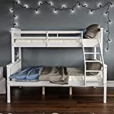 Panana Triple Sleeper Bunk Beds, Solid Wooden Bed Frame for Family, Dorm room