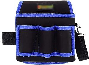 Jianghuayunchuanri Taille Tool Bag Multifunctionele Verdikte Oxford Doek Tool Opbergtas Met 3 Gereedschapzakken, 1 Gereeds...