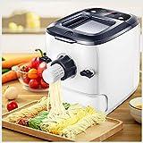 WYKDL Pasta eléctrica de la máquina Fabricante de máquinas eléctricas Noodle máquina de la Prensa Teclas de Control Inteligente con 9 Tipos de Moho en la Superficie con Gran Capacidad de Fideos Cubo