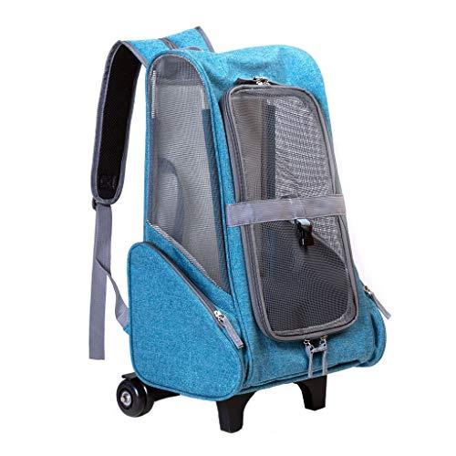 Kinderwagen Für Hunde Und Katzen, Trolley, Hundetransporter, Anhänger, Sportlich, Buggy, Kinderwagen (Color : Gray)