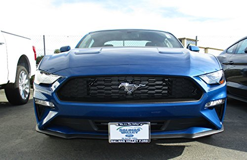 ZIC Motorsports 2018-2019 Ford Mustang Ecoboost and GT Without Performance Pack - Removable Front License Plate Bracket