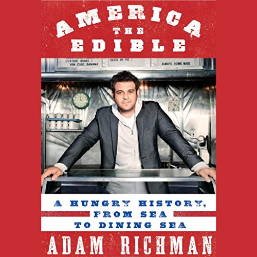 America the Edible audiobook cover art