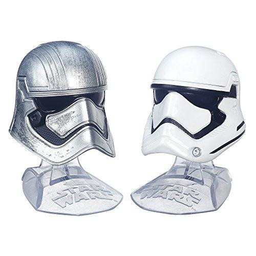 Star Wars B6002 - Casco Nero Serie Titanio 1/6th - Captain Phasma e 1° Ordine Stormtrooper
