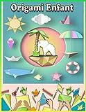 Origami Enfant: Origami facile enfant | Origami animaux | Contenu en couleur | Origami animaux 3d idéal pour cadeau | Cahier de vacances