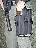 The Vest Guy P90 Tactical Triple Mag Leg Pouch (Black)