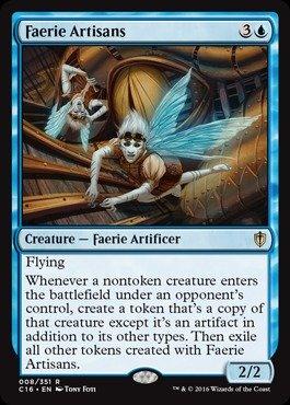 Magic The Gathering - Faerie Artisans (008/351) - Commander 2016