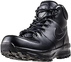 Nike Men's Manoa Leather Black/Black/Black Boot 8 Men US