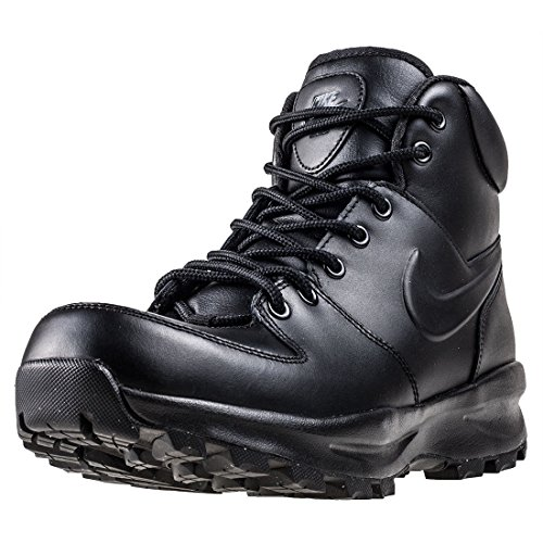 Nike Manoa Leather, Zapatos de High Rise Senderismo Hombre, Negro (Black/Black/Black 003), 43 EU