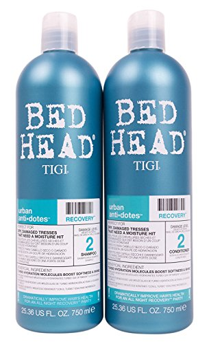 Bed Head Shampoo and Conditioner, Urban Antidotes Recovery, 25.36 Fluid Ounce