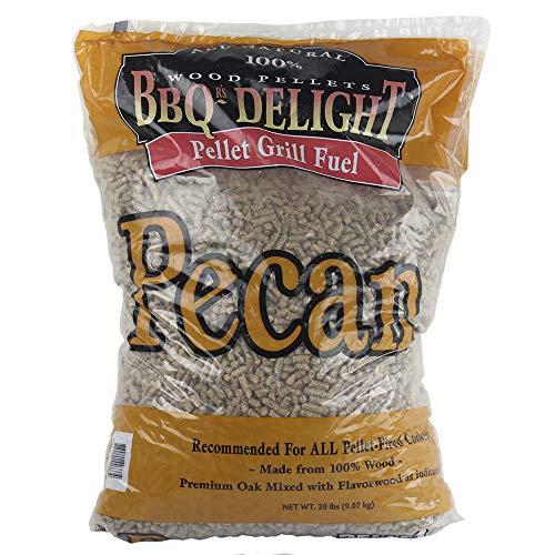 Pecan Flavor BBQR's Delight Smoking BBQ Pellets 20 Pounds
