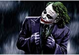 YYTTLL Jigsaw Comics Roles Clown Man Movie Rompecabezas De Madera, Adultos Ni?o Kid Puzzle Toy 1000 Piezas, Adultos Ni?os Juegos para Ni?os Juguetes Educativos
