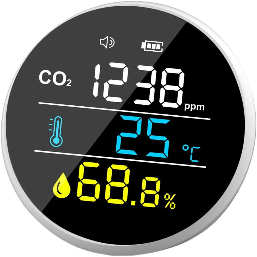 Ranking TOP17 Huhudde CO2 Detector Carbon Dioxide Air 400-5000ppm Quality Test Finally popular brand