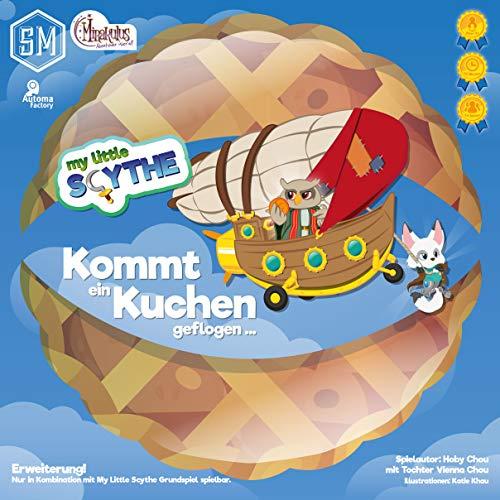 Mirakulus My Little Scythe - Kommt EIN Kuchen geflogen Erweiterung Brettspiel deutsch