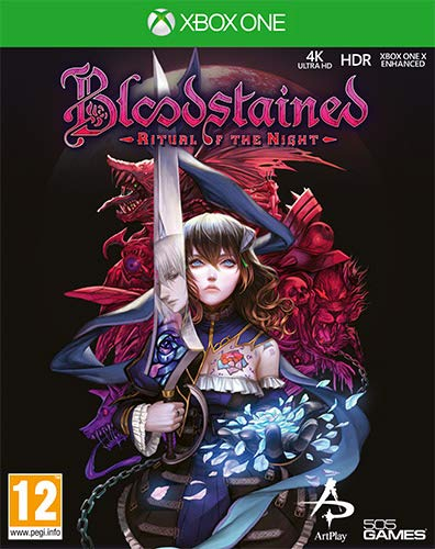 505 Games Bloodstained: Ritual of the Night, Xbox One vídeo - Juego (Xbox One, PlayStation 4, Acción / RPG, Modo multijugador, T (Teen))