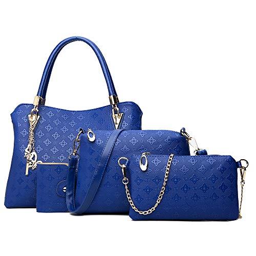 Pahajim borsa delle signore delle signore regalo set signore sacchetto cosmetico di personalità 4 pezzo set signore borsa designer moda donna borsa primavera estate autunno e inverno borsa