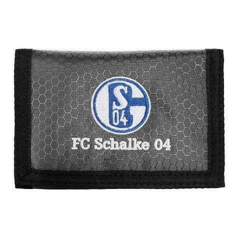 S04 Geldbörse Geldbeutel mit Klettverschluss FC Schalke 04 by FC Schalke 04