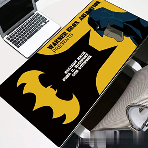 Sonwaohand toetsenbordpad, antislip, voor op het bureau, Batman muismat 300 * 800 * 2 mm 1 exemplaar