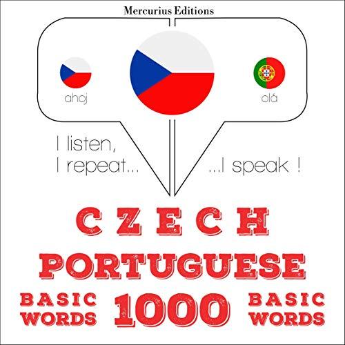 Czech - Portuguese. 1000 basic words cover art