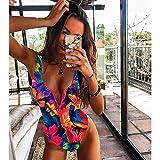 Bikinis Bañador Mujer Nuevo Traje De Baño Sexy De Una Pieza con Cremallera para Mujer, Traje De Baño Push Up, Traje De Baño, Traje De Baño con Estampado, Traje De Baño De Verano-Print_11_L
