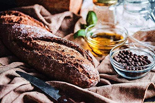 AREABP DIY Malen nach Zahlen Hausgemachte Brot Ölgemälde Kits Farbe Talk Leinwand Home Wanddekoration für Erwachsene Anfänger 16X20 Zoll