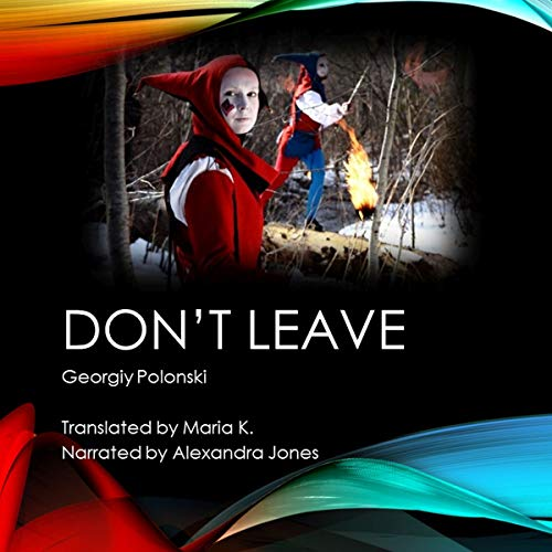 Don't Leave audiobook cover art