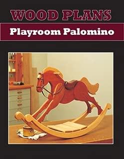 PALOMINO ROCKING HORSE - PAPER WOODWORKING PLAN