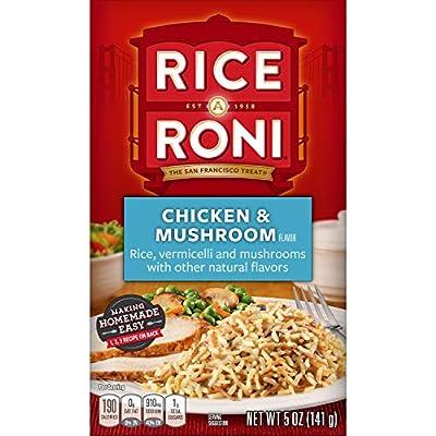 Rice-A-Roni, Chicken & Mushroom