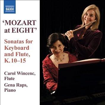 MOZART: 6 Violin Sonatas, K. 10-15 (versions for flute and piano)