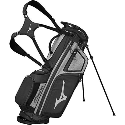 Mizuno BRD4S Sac de Golf Mixte Adulte, Noir/Blanc