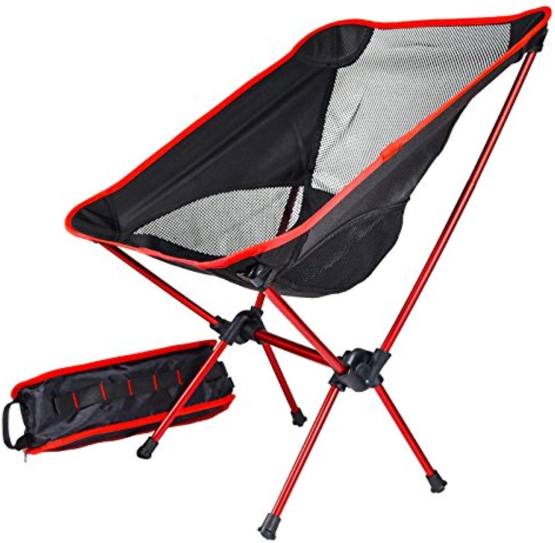 ZHAOYU Backpacking Moon Chair Beach Seat Fishing Stool Picnic BBQ Carry Bag