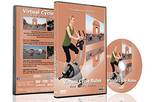 Rides cyclables virtuelles - New Delhi, en Inde, pour des séances d