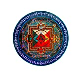 Feng Shui Import Hayagriva Mandala Sticker