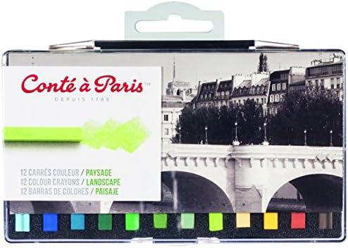 Conté à Paris - Tizas (48 unidades), multicolor: Amazon.es: Oficina y papelería