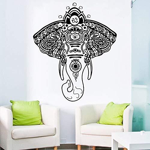 yaonuli Serie Religiosa Pintura de Pared de Elefante Tribal