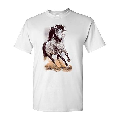 The Goozler Glorious Gray Dapple Grey Appaloosa Horse - Mens Cotton T-Shirt