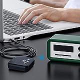 Receptor Bluetooth, adaptador Bluetooth 5.0, transmisor 2 en 1, mini transmisor inalámbrico con clavija de 3,5 mm, 300 mAh, para coche, TV, PC, portátil, equipo estéreo y hogar