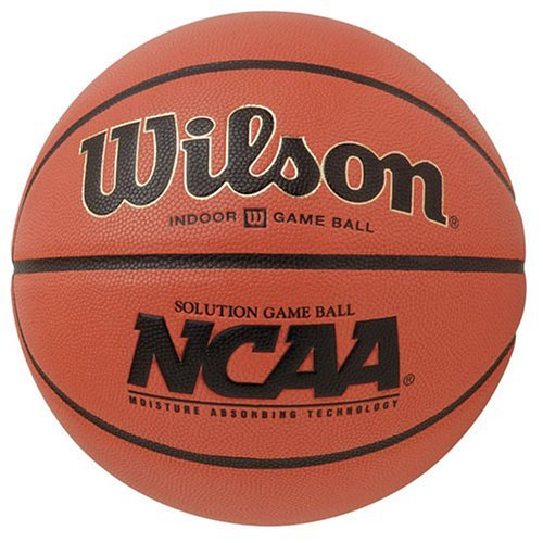 Lowest Prices! Wilson New Solution Women's & Youth, 28.5'' NCAA Basketball Orange/Black