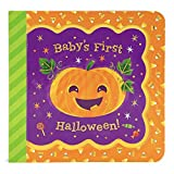 Baby's First Halloween Greeting Card Board Book (Includes Envelope and Foil Sticker) For Newborns, 0-12 Months (Little Bird Greetings Keepsake Book)