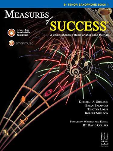 Measures of Success - B-flat Tenor Saxophone Book 1