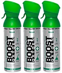 CLEAN, ALL NATURAL & SAFE: Unlike stimulants and energy drinks, which contain caffeine and sugars that can actually harm the body over time, Boost Oxygen provides pure oxygen in a convenient form. NATURE'S BODY SUPPLEMENT: When deprived of oxygen, pe...